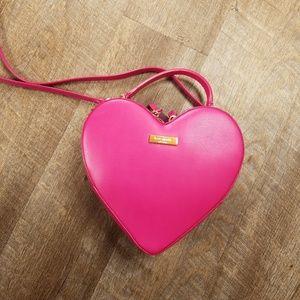 Kate Spade Pink Heart Shaped Crossbody